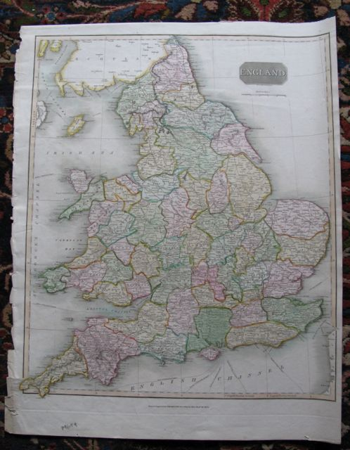 Image for Map of ENGLAND