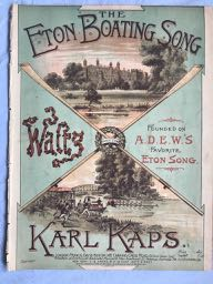 Image for THE ETON BOATING SONG -  WALTZ