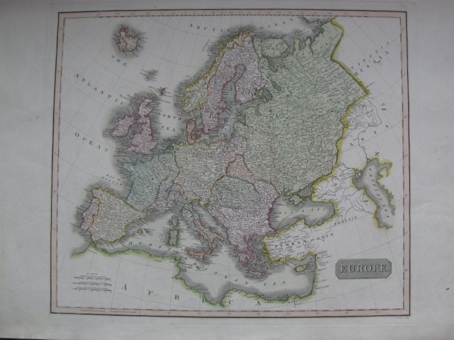 Image for Map of EUROPE