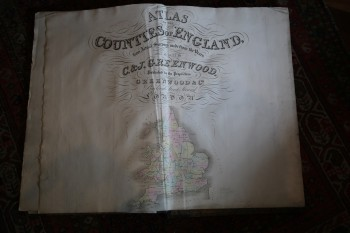 Image for ATLAS OF THE COUNTIES OF ENGLAND From an Actual Survey Made in the Years 1822 &1823