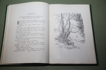 Image for WINNIE-THE-POOH with decorations by Ernest H. Shepard