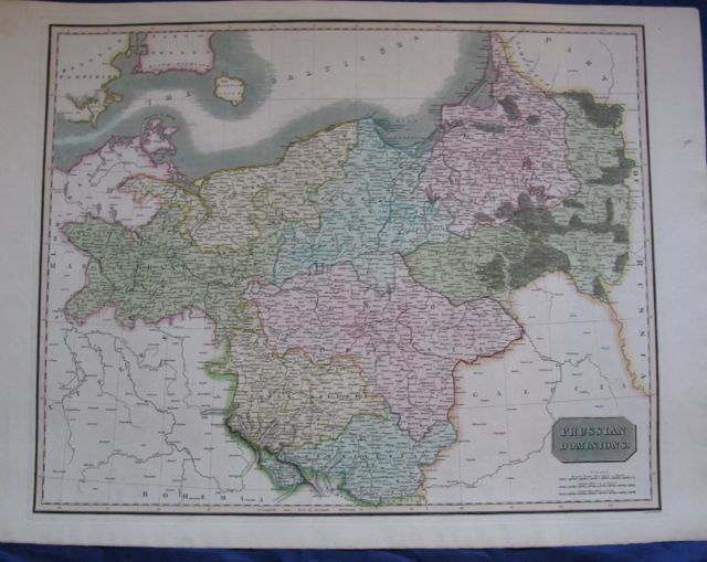 Image for Map of PRUSSIAN DOMINIANS,