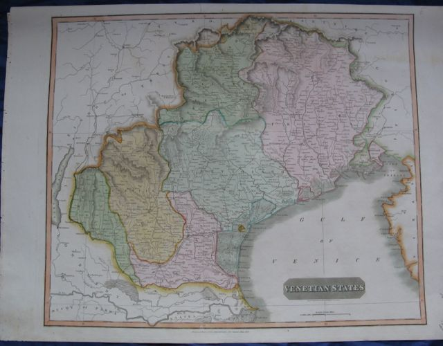 Image for VENETIAN STATES Map